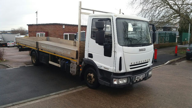 Picture of 2007 IVECO Eurocargo Scaffolding